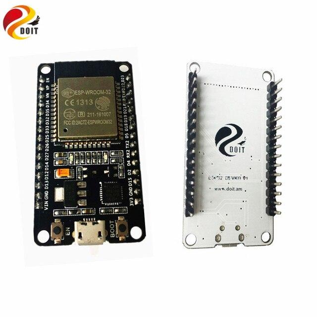 Official DOIT ESP32 Development Board WiFi+Bluetooth UltraLow Power Consumption Dual Cores ESP-32 ESP-32S ESP 32 Similar ESP8266