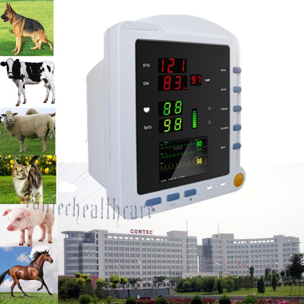 Vet Veterinary Vital Sign Portable Patient Monitor NIBP, PR, Spo2 Monitor,contec gpyoja 2016 hot selling multi parameter ecg nibp spo2 pr temp resp tablet patient monitor
