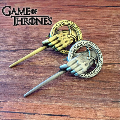 Anime Game Of Thrones Song Of Ice And Fire Brooch Hand Of The King Lapel Inspired Authentic Prop Badge Brooch Pin Film Jewelry