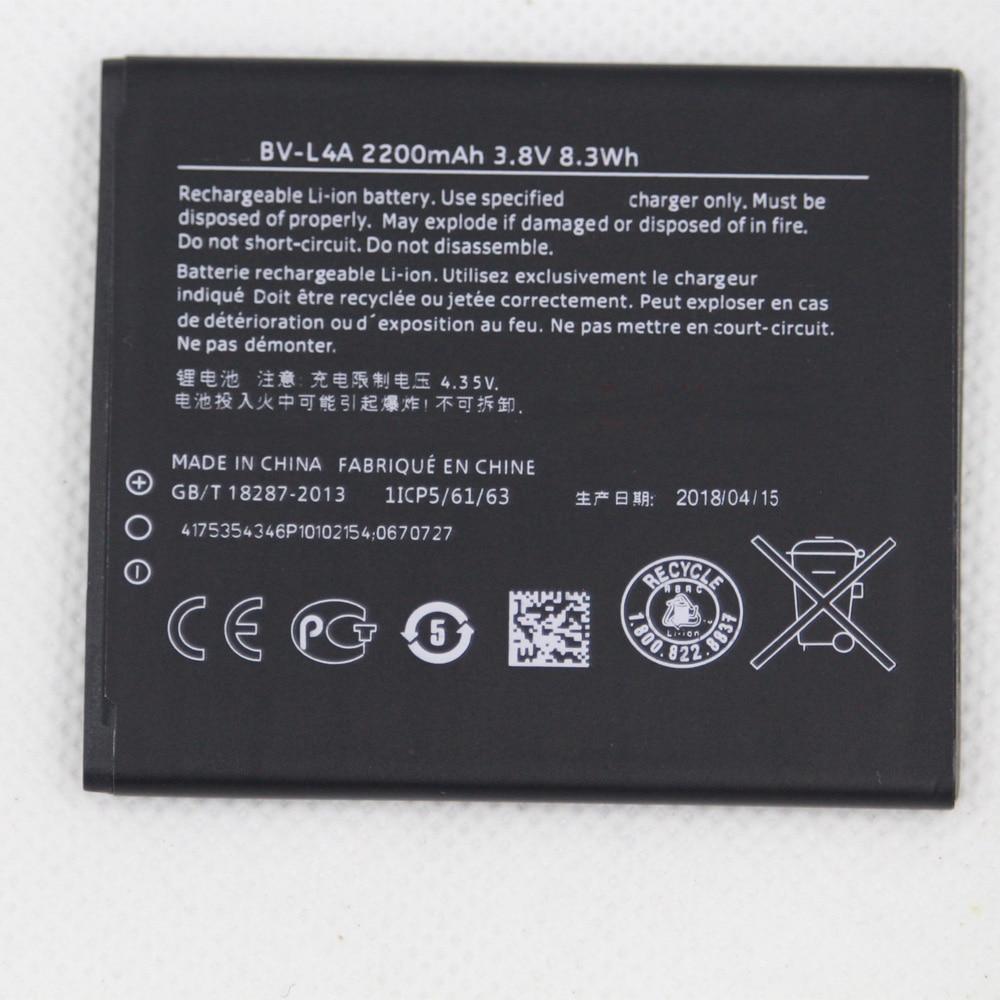 2200mAh BL-L4A BLL4A BL L4A BV-L4A Battery for Nokia Lumia 535 Battery Lumia 830 RM984 RM-1090 RM-1089 Battery Replacement