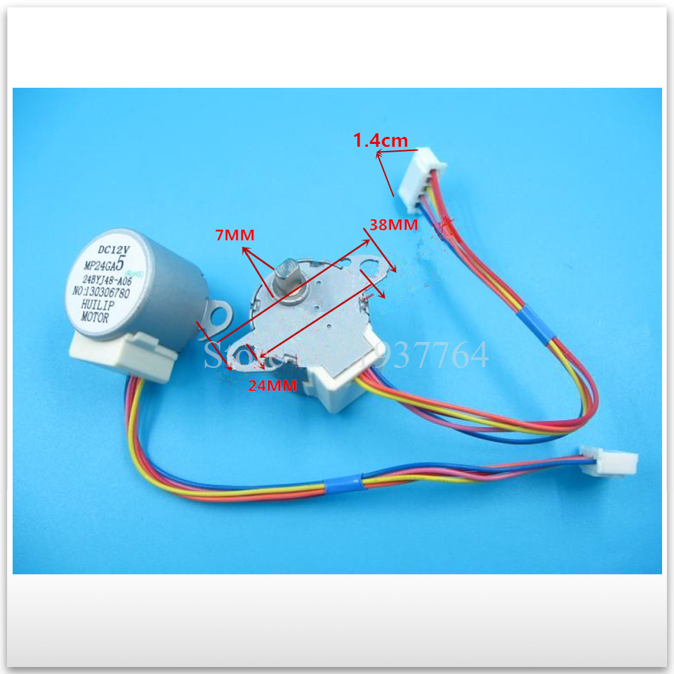 new for Air conditioning Stepper motor MP24GA5 MP24GA Synchronous scavenging motor good working 5pcs original for air conditioning dual synchronous motor wind motor 4byj48 dc 12v f231212 20 30cm length