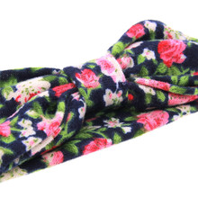 Baby Girl Headbands Turban Bandana Hair Band Infant Toddlers HeadWrap Hair Accessories Ear Bebe Printing Flowers Headwear New