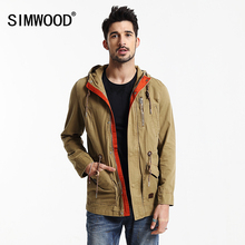 Simwood Brand Men's Down Jacket  Men Outwear Winter Jacket 2016 New Fashion Men Overcoat High Quality Free Shipping WJ1644