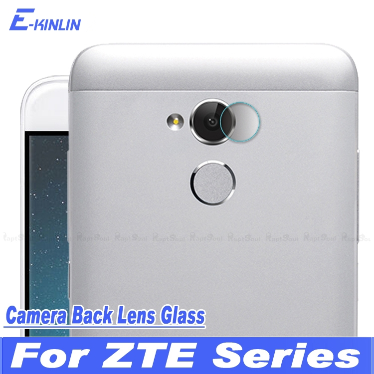 Back Camera Lens Protective Clear Tempered Glass Protector Film For ZTE Blade Tempo Go A2 L5 Plus X Max XL Hawkeye Axon 7 mini