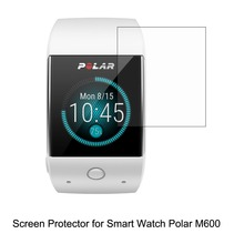 3* Clear LCD PET Film Anti-Scratch Screen Protector Cover for Sporting Smart Watch Polar M600