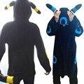 Black blue moon elves onesies pyjamas adult unisex polar fleece pajamas cosplay cartoon animal sleepwear long sleeve Kigurumi