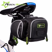 BOCKBROS Bicycle Saddle Bag For Bike Seat Bags Cycling Seat Post Basket Rear Fixed Gear Bolsas