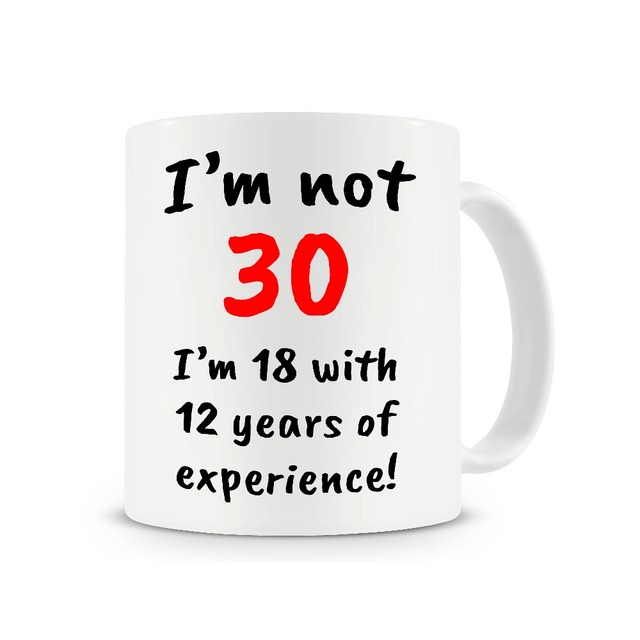 30th Birthday Gift Boss Mug Friends Coffee Mugs Ceramic Tea Mugen Home Decal Kitchen Friend