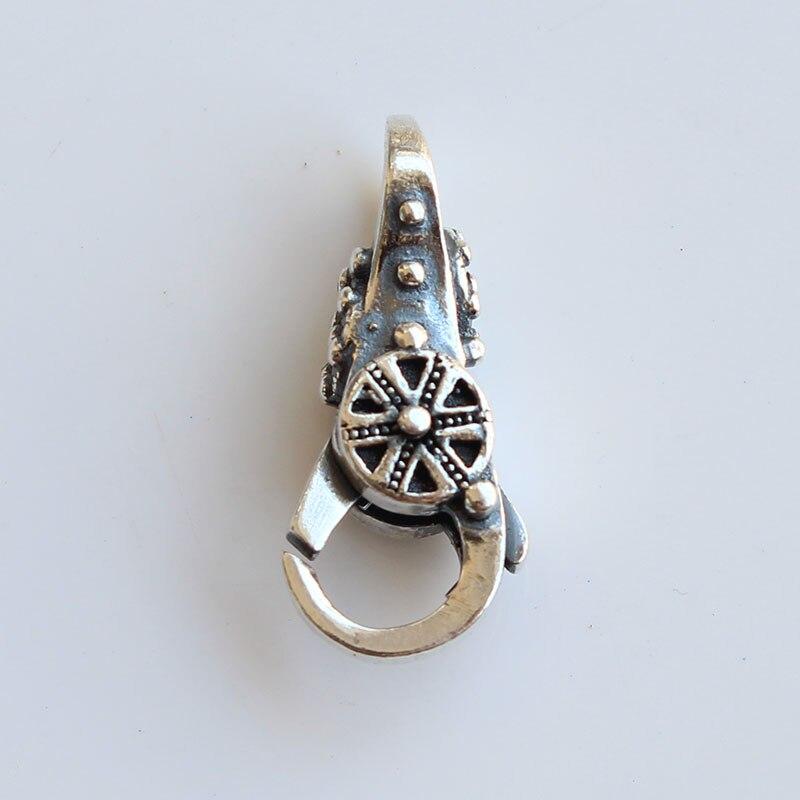 Serrure de Temple spirituel fermoirs en argent Sterling 925 pour Bracelet de perles de breloques à assembler soi-même
