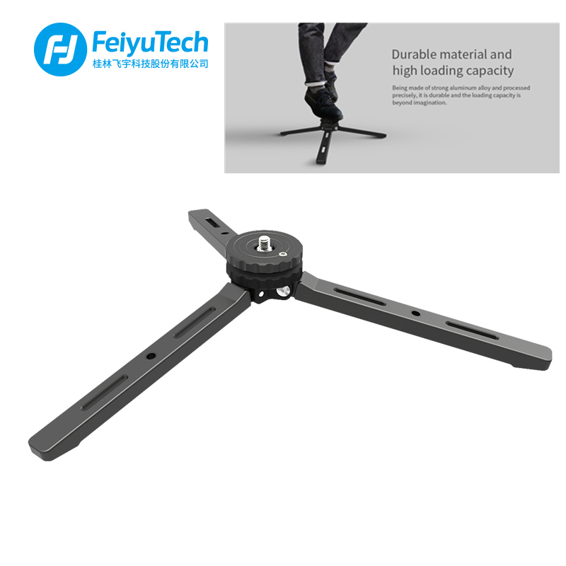 FeiyuTech Newest Metal V3 Tripod for AK2000 SPG2 G6Plus <font><b>A1000</b></font> A2000 <font><b>Feiyu</b></font> <font><b>Gimbal</b></font> Stabilizer Hight Payload image