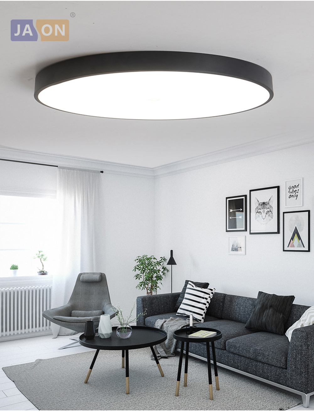 HTB1wwLjcAfb uJkHFNRq6A3vpXal LED Modern Acryl Alloy Round 5cm Super Thin LED Lamp.LED Light.Ceiling Lights.LED Ceiling Light.Ceiling Lamp For Foyer Bedroom