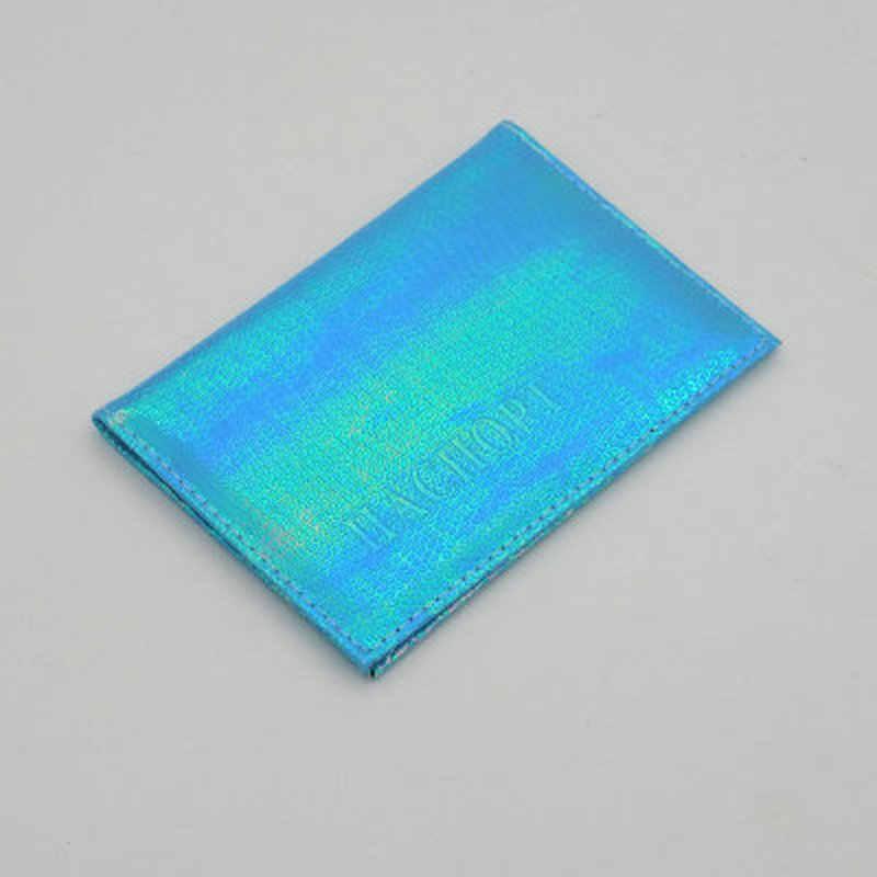 4 Warna Shiny Lizard Grain Paspor Cover Biru Merah Tas Paspor Ukuran Standar untuk Kulit Kasus Kustom Acceptedx