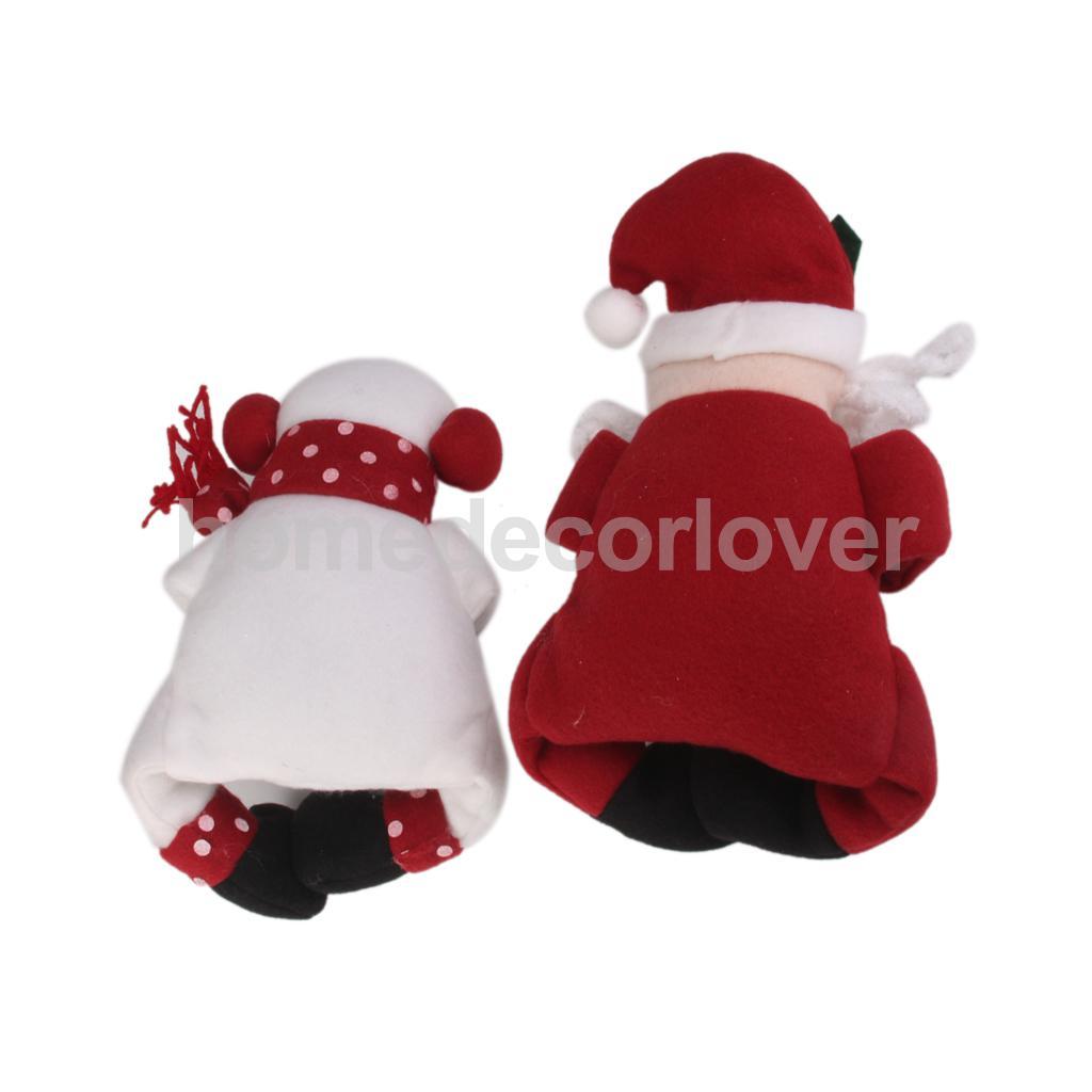 Cute santa claus towel christmas decor - Toy Snowman Santa Claus Wine Bottle Cover Towel Holder Gift Christmas Decor China Mainland
