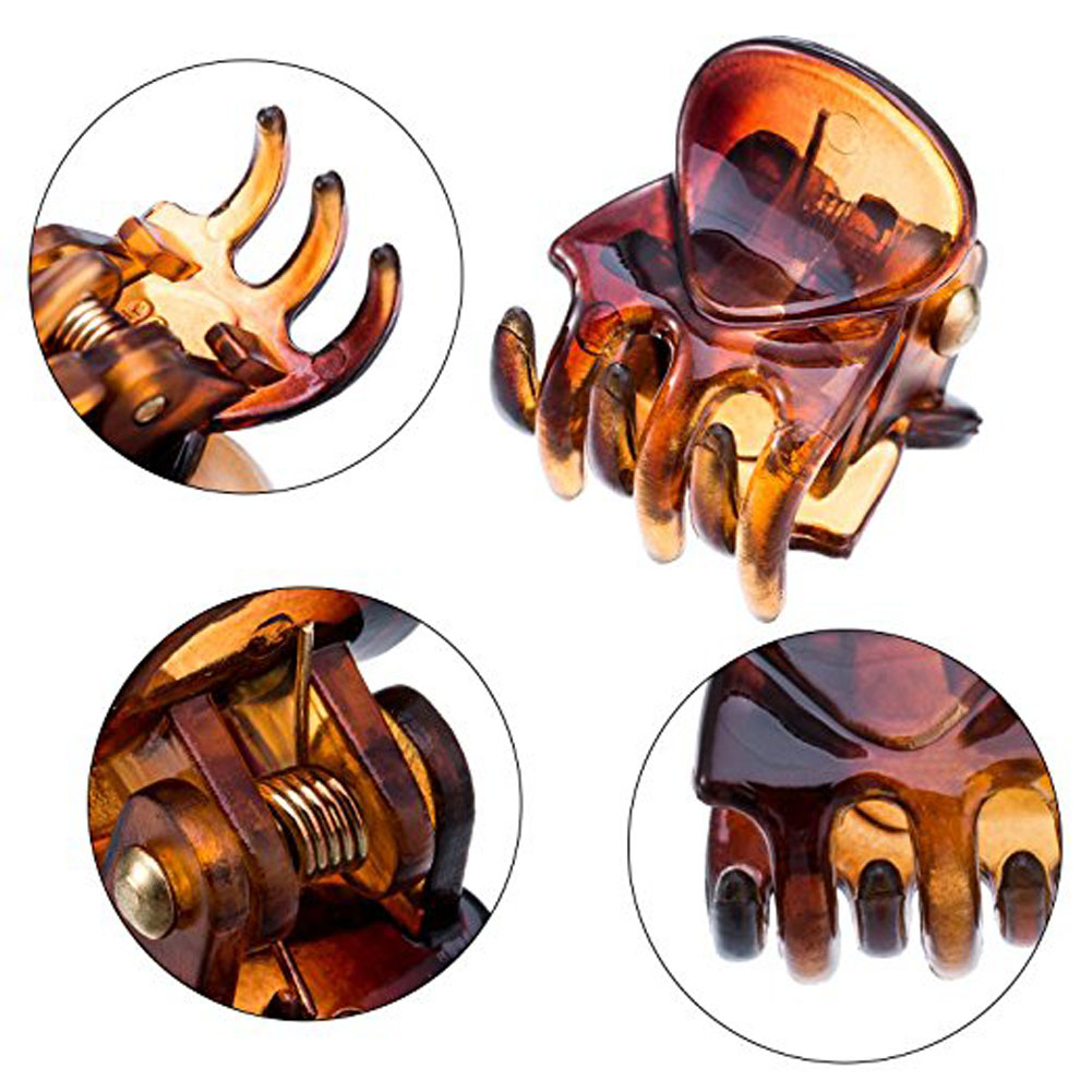 New Small Plastic Black Hair Clips Claws Clamps Jewelry