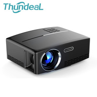 ThundeaL GP80 GP80UP Mini Projector LED LCD 1800 Lumens Projection Max 120inch VGA HDMI Optional Android
