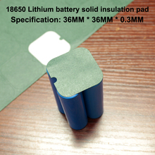 20pcs/lot 18650 universal lithium battery DIY high temperature insulation mat 4 section mat 18650 battery pack insulation sheet 4pcs13 13cm thickness 0 4mm universal cuttable insulation high temperature insulation mica sheet microwave oven insulation sheet