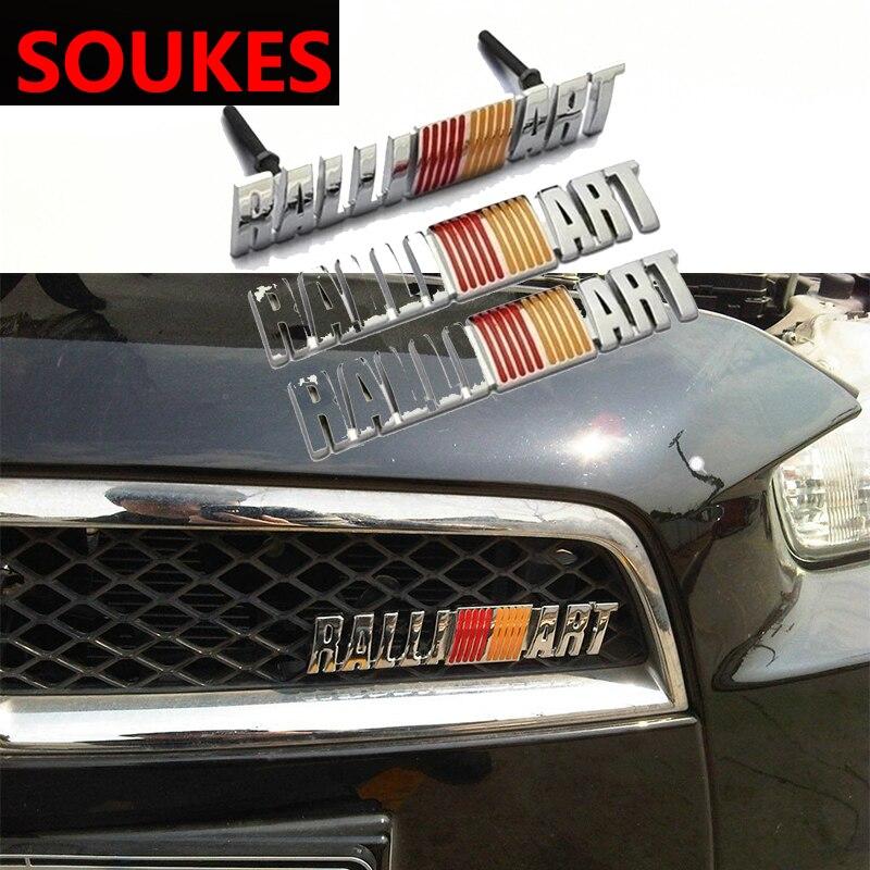 2X BLACK//RED METAL 3.0L 6G72  ENGINE RACE MOTOR SWAP BADGE FOR TRUNK HOOD DOOR