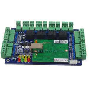 Image 1 - Four Door Network Access Control Panel Board With Software Communication Protocol TCP/IP board Wiegand Reader for 4 Door Use