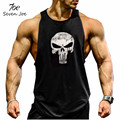 Seven Joe.New Brand clothing Bodybuilding Fitness Men Tank Top Golds Gorilla Wear Vest Stringer  sportswear Undershirt