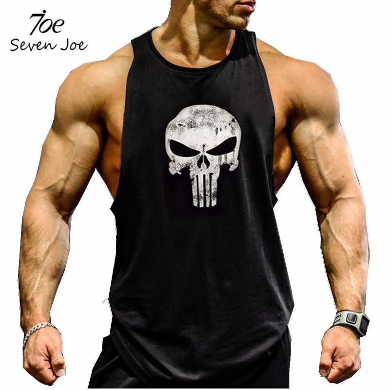 b18a7a2f7e6c13 Seven Joe.New Brand clothing Bodybuilding Fitness Men gyms Tank Top Golds  Vest Stringer sportswear Undershirt