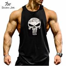 Seven Joe.New Brand clothing Bodybuilding Fitness Men gyms Tank Top Golds Vest Stringer sportswear Undershirt