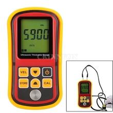 DHL 10 sztuk GM100 ultradźwiękowy przyrząd do pomiaru grubości miernik głębokości miernik prędkości dźwięku metalowe Testering szerokość przyrządy pomiarowe tanie tanio Description Show CKINNFON See Description