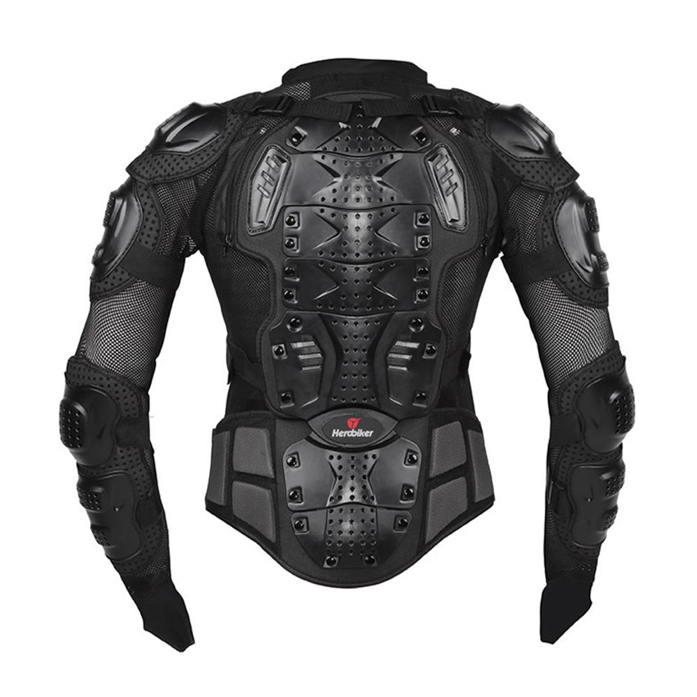 HEROBIKER Motorcycle Armor Protective Gear Motorcycle Jacket Body Armor Racing Moto Jacket Motocross Clothing Protector Guard-in Armor from Automobiles & Motorcycles    3