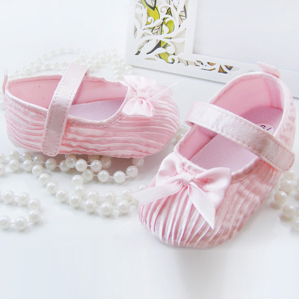 Lovely-Baby-Girl-Toddler-Newborn-Damask-Bowknot-Soft-Crib-Shoes-Non-Slip-Shoes-5