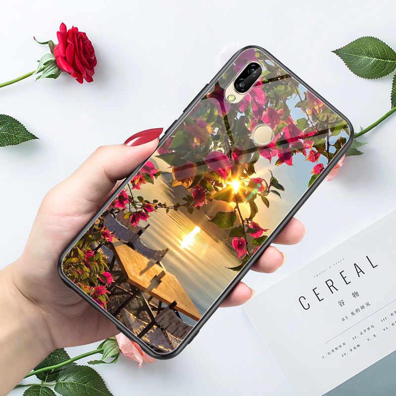 Funda trasera para teléfono Huawei P20 Lite P10 Lite P9 P20 P30 P Smart 2018 2019 Plus Funda Huawei P20 PRO