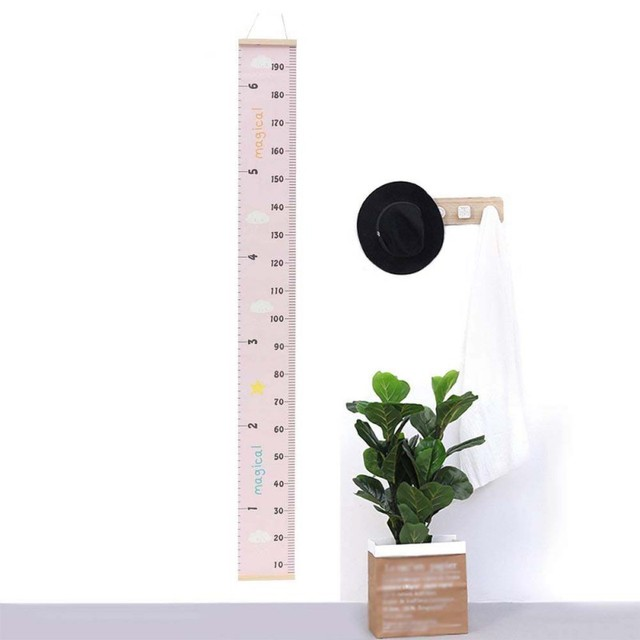 Decorative child kids growth chart wall hanging baby height measure ruler sticker for room home decor props also rh aliexpress