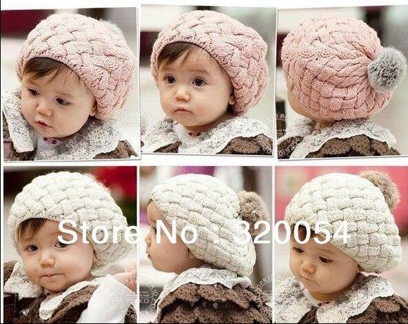 2013 Новые детские вязаные шапки с яблоком модная теплая шапка на осень и зиму Детские разноцветные