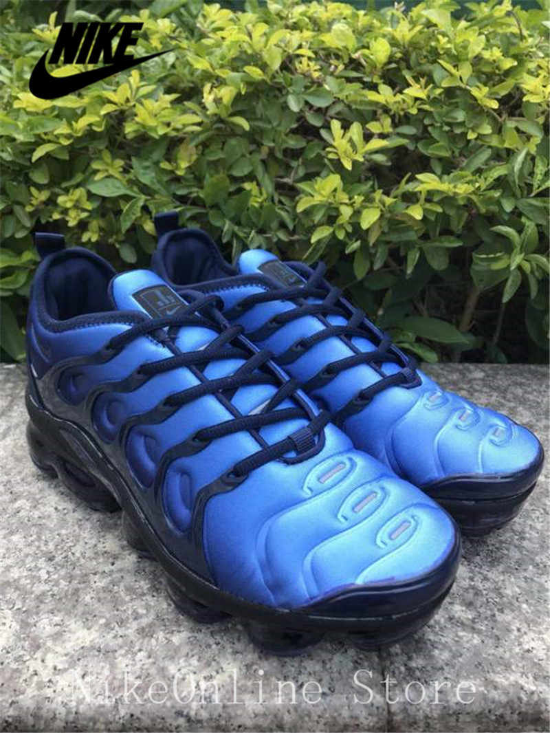 hot sale online 1f2f1 a3705 Nike Air Max Vapormax Plus TN Men And Women Running Shoes Cushioning Shoes  Outdoor Sport Black