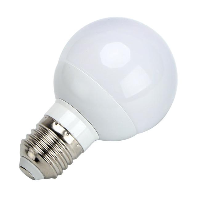 E27 G60 Led Lampe Energieeinsparung 3 Watt Intelligente Lampen Weiss Notlicht Hause Beleuchtung Schlafzimmer Wohnzimmer