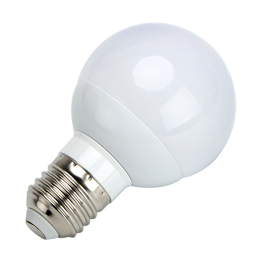 E27 G60 LED Bulb Energy Saving 3W Intelligent Lamps White Emergency Light Home Lighting Bedroom Living Room Light AC 85-265V