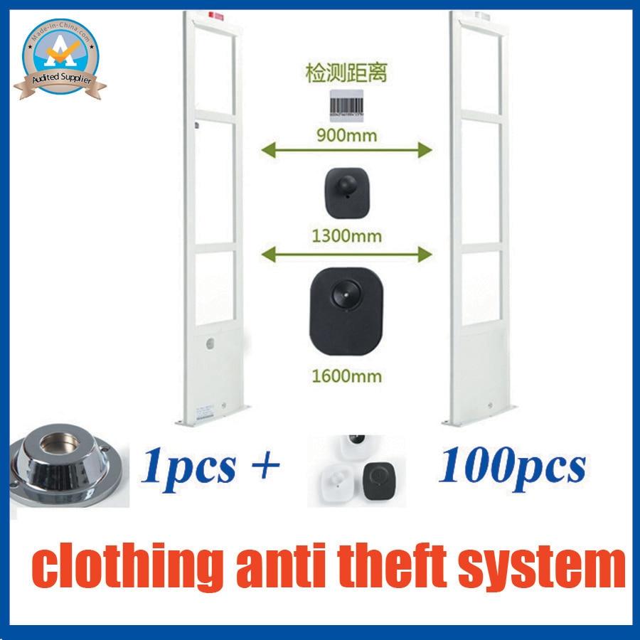 Profesjonell klesbutikk sikkerhetsalarmsystem, RF 8.2Mhz eas-system, - Sikkerhet og beskyttelse