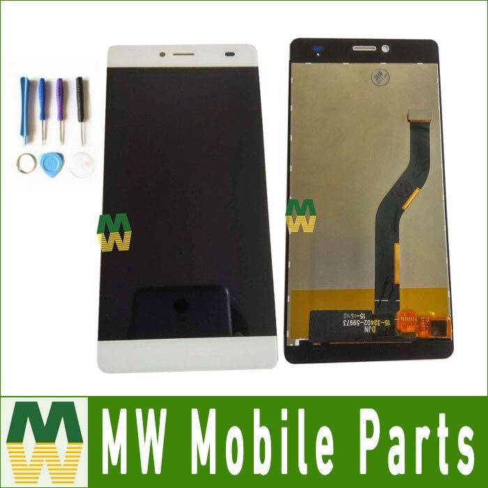 1 Pz/lotto Per BQ BQS-5070 BQS 5070 Magia Display LCD + Touch Screen Montaggio di Ricambio Nero Colore Bianco con gli strumenti