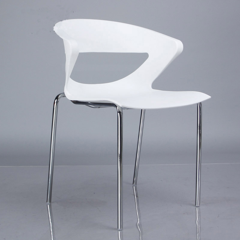 Free Shipping Set Of 6 Pieces Stackable Pp Dining Chair China