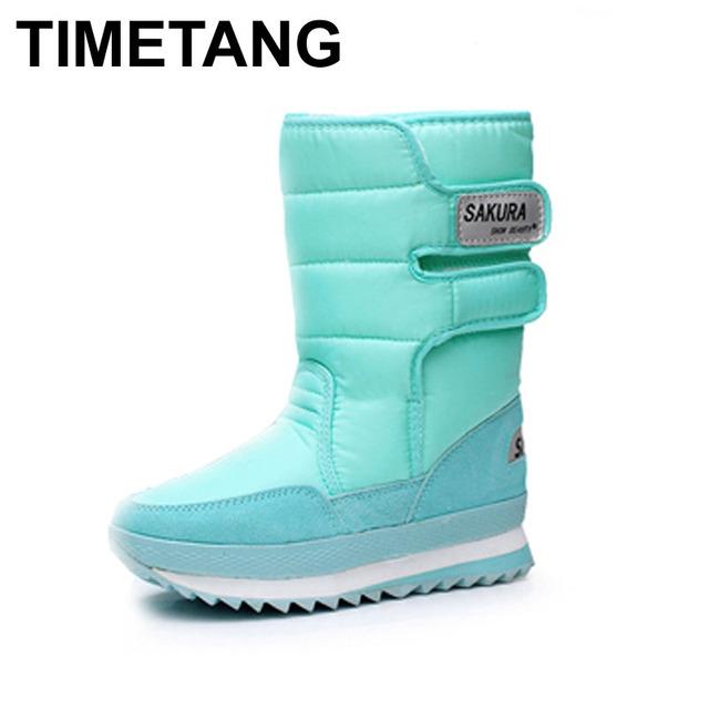 2015 Botas novas de alta-perna plataforma botas mulheres sapatos de neve botas impermeáveis botas de neve! venda quente