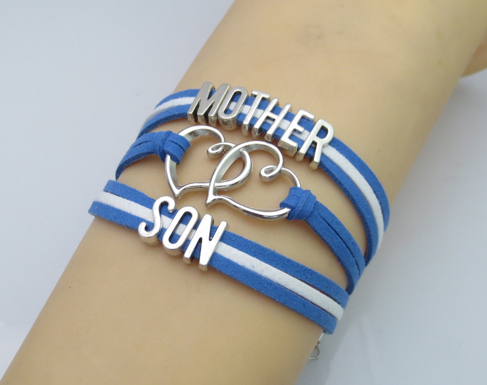 Fashion Mother And Son Bracelets Hot Ing Kid Man Love Gift In Charm From Jewelry Accessories On