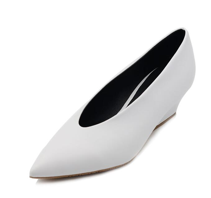 XGRAVITY Hot Summer Autumn Designer Vintage Evening Shoes Ladies Fashion Pointed Toe V Cut Woman Shoes High Heel Pumps Sexy A113 in Women 39 s Pumps from Shoes