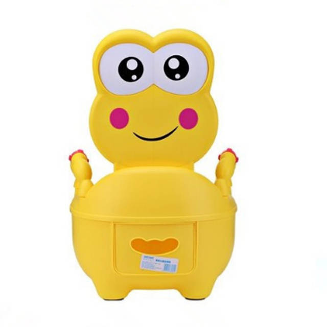frog potty chair see through chairs online shop new style baby toilet cute cartoon girls boy portable drawer training