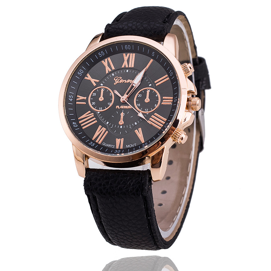 New Fashion Geneva Watches Women Dress Watches Leather Strap Casual Quartz Watches Relogio Feminino Montre Femme стоимость