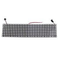 8 32 Pixel 256 Pixels WS2812B 2812 Digital Flexible LED Programmed Panel Individually Addressable 5050 RGB