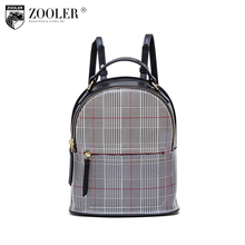 ZOOLER hot travel bags women leather backpack Wool &genuine leather bag versatile functional bag for lady  bolsas tote B239