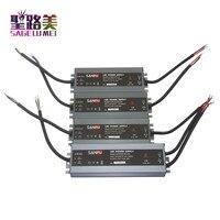 LED ultra-dunne waterdichte voeding IP68 AC110V-220V om DC12V/DC24V transformator 45 w/60 w/ 100 w/120 w/150 w/200 w/300 w led Driver