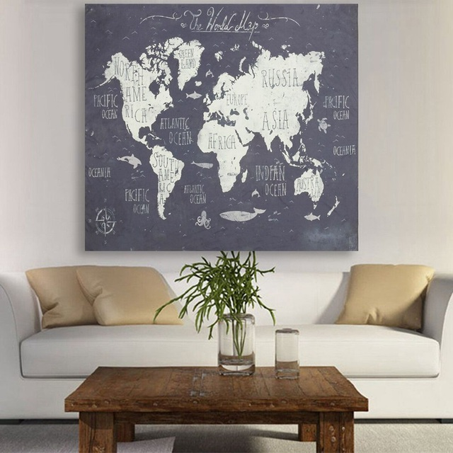 Best price vintage world map polyester fabric wall tapestry best price vintage world map polyester fabric wall tapestry decorative cloth for home living room hanging gumiabroncs Gallery