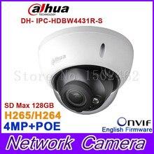 Original Dahua 4MP IPC-HDBW4431R-S replace IPC-HDBW4421R IP Camera HD Network IR cctv Dome IP CCTV Camera POE DH-IPC-HDBW4431R-S