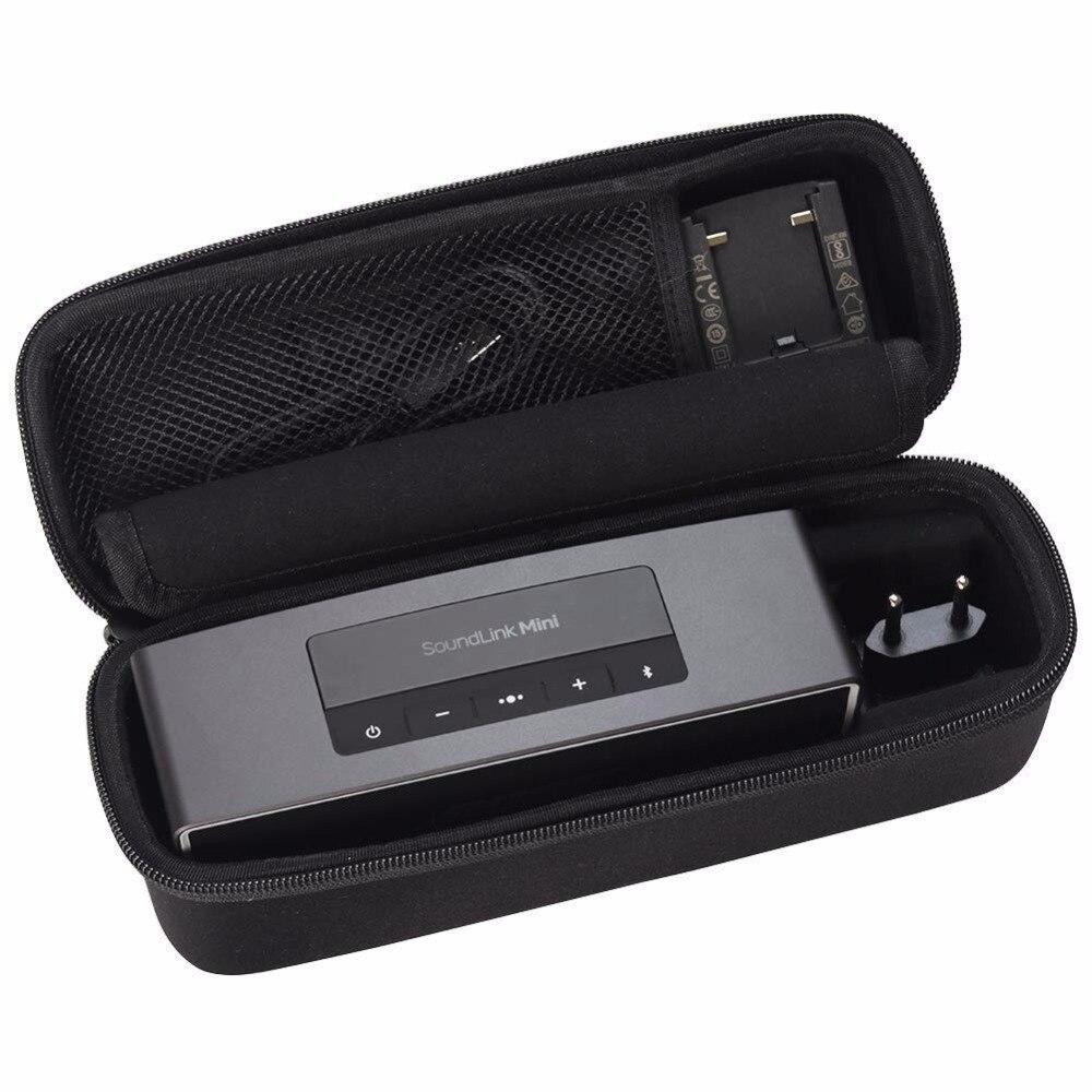 Новый жесткий чехол EVA для путешествий, чехол для Bose Soundlink Mini 1/ 2 и Soundlink Mini I/ II, беспроводной Bluetooth корпуса Динамиков чехол s|Аксессуары для аудиосистем|   | АлиЭкспресс