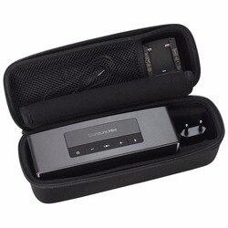 Nova eva dura viagem bolsa de transporte capa para bose soundlink mini 1/2 & soundlink mini i/ii sem fio bluetooth alto-falante casos