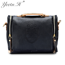 2017 New Arrival women cross body bag Barrel-shaped Pu  women shoulder bag Messenger Bags